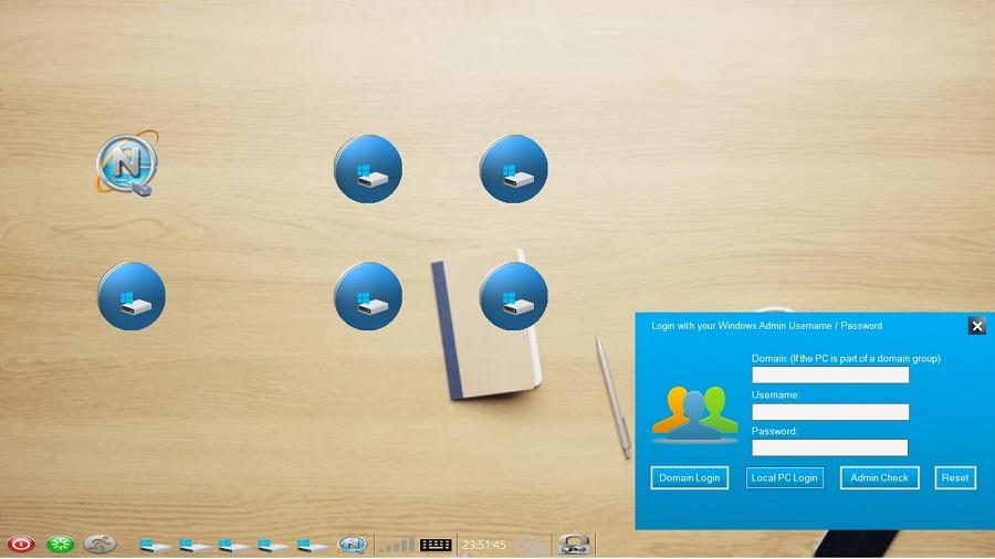 Netkiosk Desktop Lock 2020